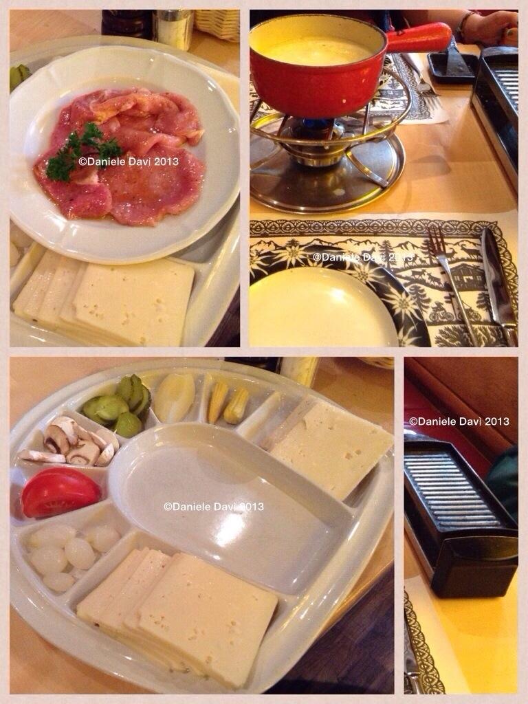Raclette e fondue
